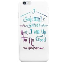 I Solemnly Swear iPhone Case/Skin