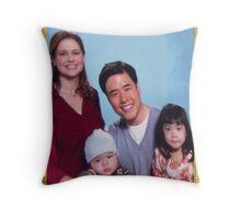 Asian Jim Halpert Throw Pillow