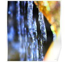 Waterfall at Botanic Gardens Canberra Poster