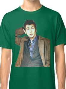 COLOR David Tennant as Doctor Who Classic T-Shirt