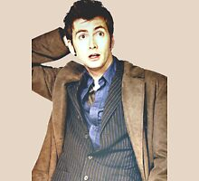 COLOR David Tennant as Doctor Who T-Shirt