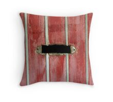 Letter Slot Throw Pillow