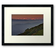 The Himalayas Framed Print