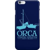 Orca Fishing Charter iPhone Case/Skin