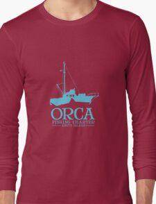 Orca Fishing Charter Long Sleeve T-Shirt