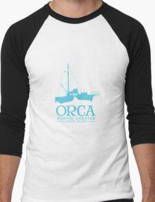 Orca Fishing Charter Men's Baseball ¾ T-Shirt
