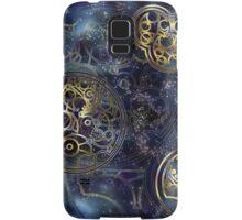 Spacey Tardis Circular Gallifreyan design  Samsung Galaxy Case/Skin