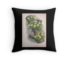 Iconagraphy of Orchids Iconographie des Orchidées Jean Jules Linden V4 1888 0110 Throw Pillow