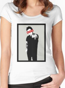 InkFOB - Wentz Women's Fitted Scoop T-Shirt