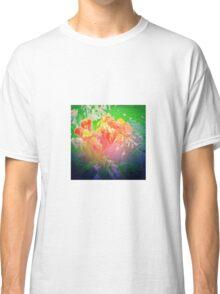 Flower Petals Ablaze Classic T-Shirt