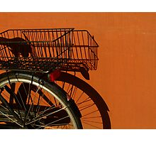 Orange Range II Photographic Print