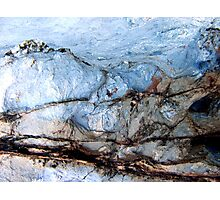 Ice Mountain Photographic Print