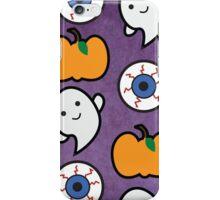 Spoopy Halloween Pattern iPhone Case/Skin