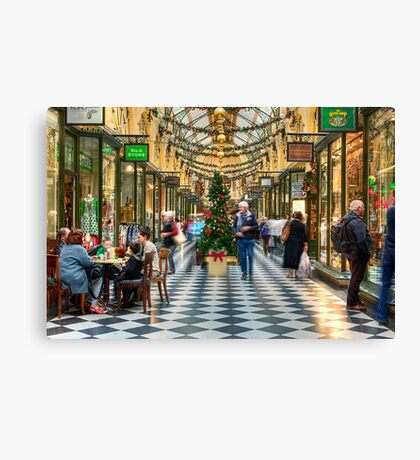 Royal Arcade • Melbourne • Australia  Canvas Print