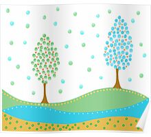 Cute Tree Poster