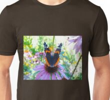 Butterfly bokeh Unisex T-Shirt