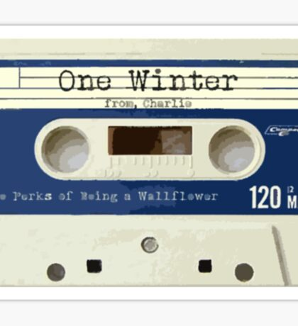 One Winter from Charlie Sticker