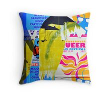 Poster Archaeology 30 Throw Pillow