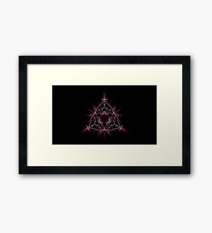 Starburst Triforce Framed Print