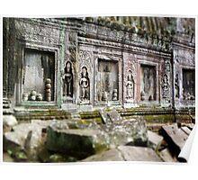 Angkor Wat Asparas Poster