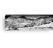Newlands Valley (2), Cumbria, England Canvas Print