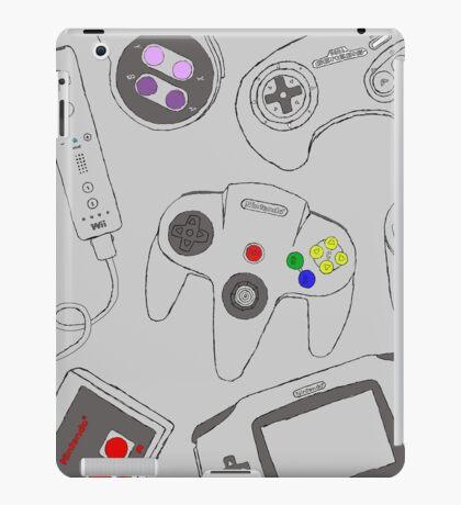 Gaming Controller Pattern iPad Case/Skin