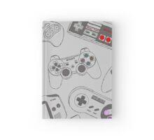 Gaming Controller Pattern Hardcover Journal
