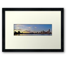 Cincinnati Skyline Framed Print