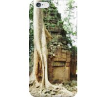 Angkor Wat: Where Nature and Structure Meet iPhone Case/Skin