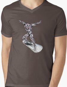 GREAT WAVE - SURFER Mens V-Neck T-Shirt