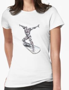 GREAT WAVE - SURFER Womens Fitted T-Shirt