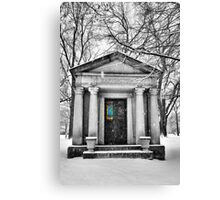 Raffington's Tomb Canvas Print