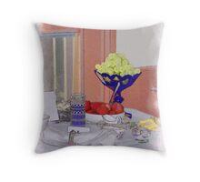 Victorian High Tea Throw Pillow