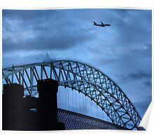 WIDNES TO RUNCORN BRIDGE Poster