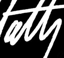 Matt Healy Signature - The 1975 White  Sticker