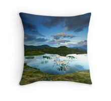 Guichard lake, Oisans, France Throw Pillow
