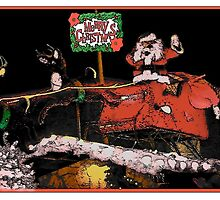 Santa  by ArtBee