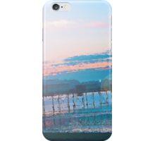 Sunrise in Orange and Blue Skies iPhone Case/Skin
