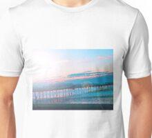 Sunrise in Orange and Blue Skies Unisex T-Shirt