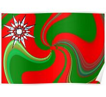 Another Christmas card or wall hanging Poster