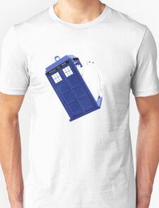 Baymax Inside Flying Tardis T-Shirt