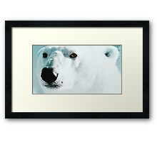Face cold facts Framed Print
