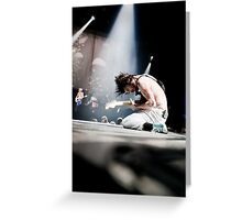 Biffy Clyro 07 Greeting Card
