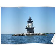 Orient Point Light House Poster