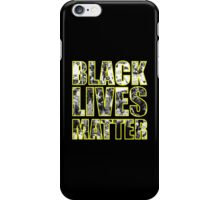 #BLACKLIVESMATTER PROTEST SHIRT iPhone Case/Skin