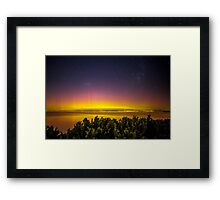 Aurora Australis the Southern Lights 3 Framed Print