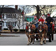 Holly Daze Christmas Fair I Photographic Print