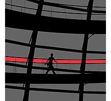 Red Stripe Photographic Print