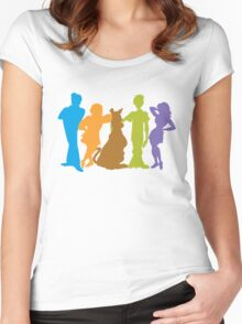 Scooby Gang Women's Fitted Scoop T-Shirt