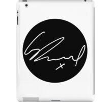 George Daniel Signature - The 1975 White  iPad Case/Skin